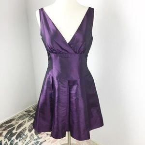 Donna Morgan Dress Purple Size 10P